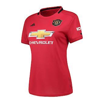 2019-2020 Man Utd Adidas Womens Home Shirt