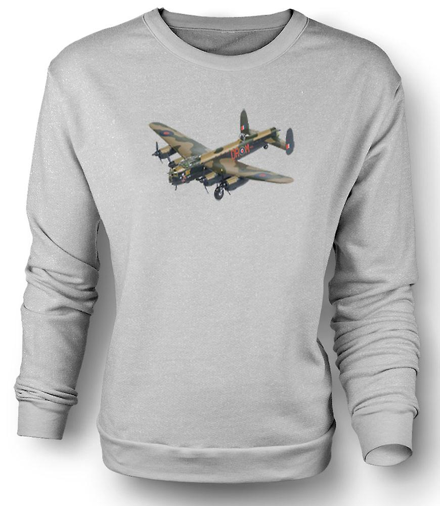 Mens Sweatshirt Fighter flyet Bomber kamuflasje