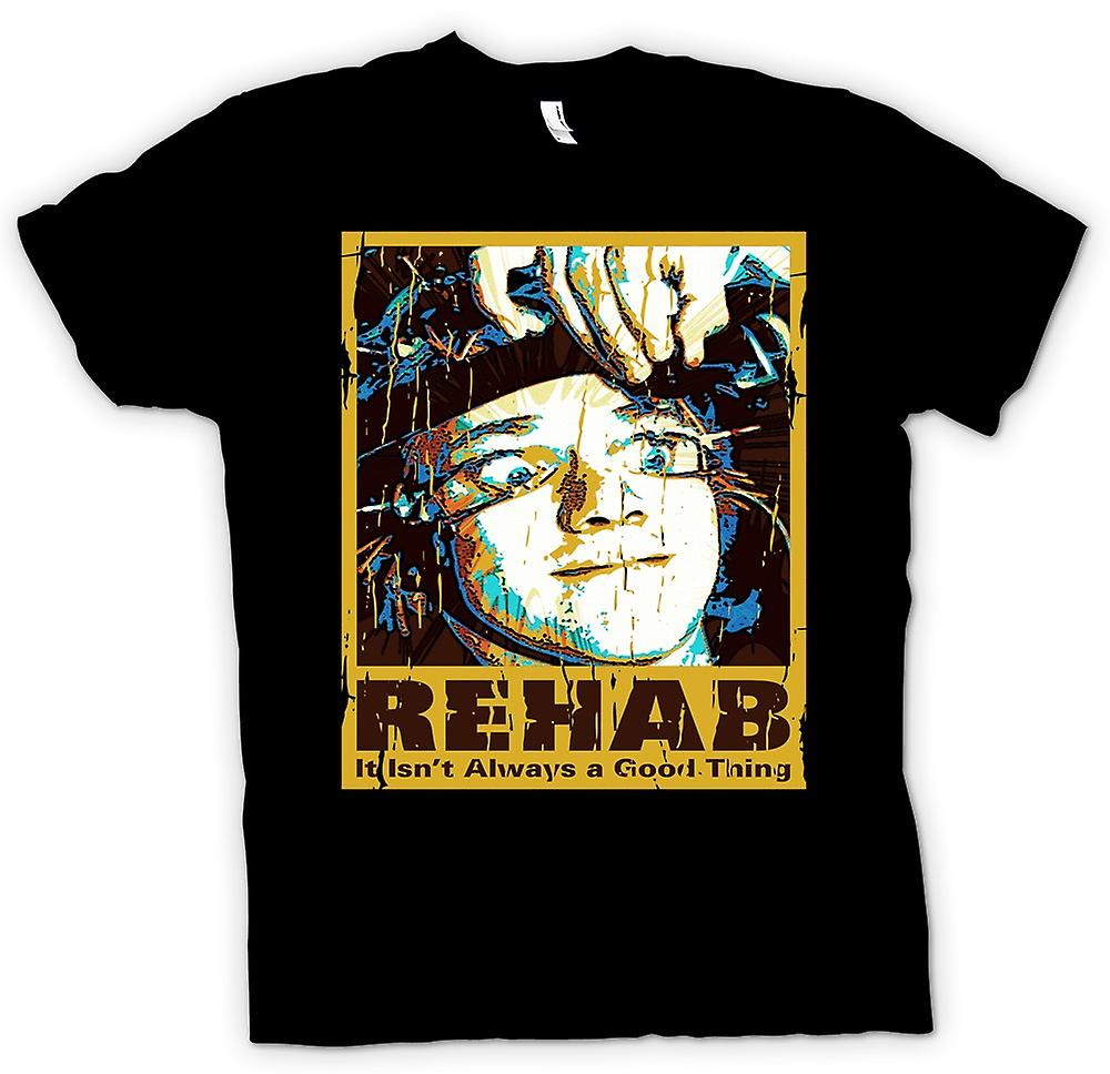 Womens T-shirt - Rehab Isnt Always A Good Thing - Clockwork Orange Insapired
