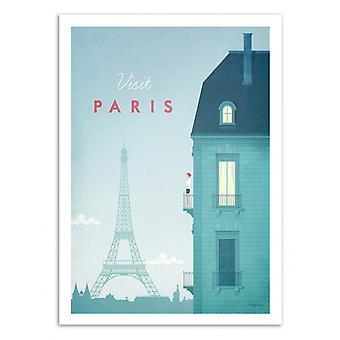 Art-poster-Besök Paris-Henry Rivers 70 x 100 cm