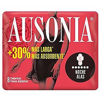 Ausonia Night Pads with Wings 8 Units (Hygiene and health , Intimate hygiene , Pads)