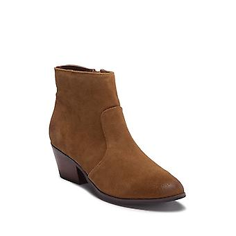 Steve Madden Womens Creek Leather Almond Toe Ankle Fashion Boots