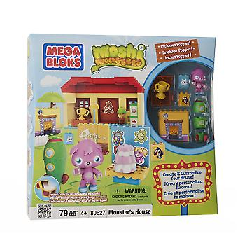 Moshi Monster Monster House With Poppet 79 Pieces