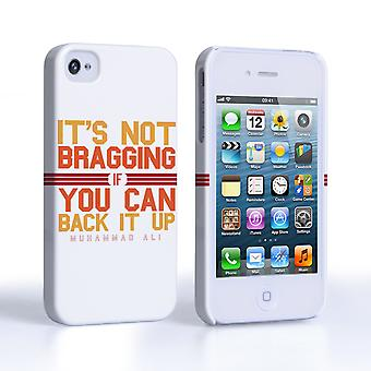 Caseflex iPhone 4 4s Muhammad Ali Quote Case