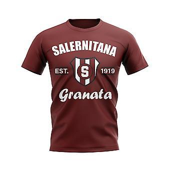 Salernitana etabliert Fußball T-Shirt (Maroon)