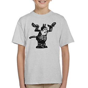 Krazy Kat hendene opp Kid ' s T-skjorte