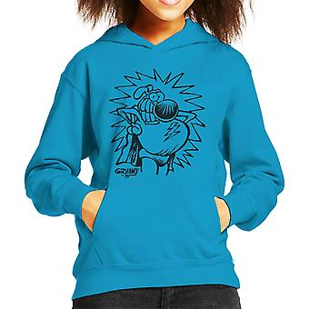 Grimmy Super Hero Kid's Hooded Sweatshirt