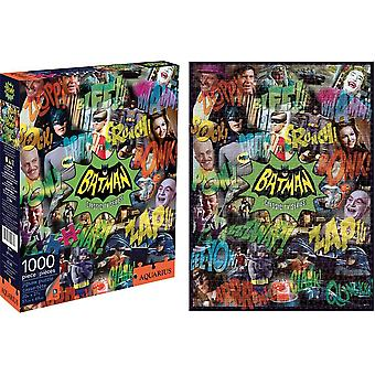 Batman 1960s TV Series 1000 piece jigsaw puzzle 690mm x 510mm  (nm 65242)