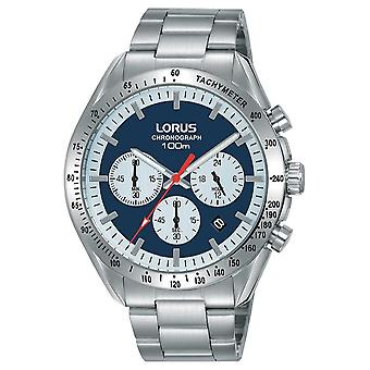 Lorus | Mens Chronograph | Stainless Steel Bracelet | Blue Dial | RT339HX9 Watch