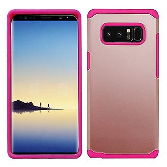 ASMYNA Rose Gold/Hot Pink Astronoot Phone Protector Cover  for Galaxy Note 8