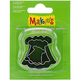Makin's Clay Cutters 3/Pkg-Dress M360-35