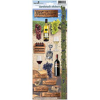 Paper House Cardstock Stickers Wine Country Stcx 71E