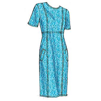 Misses' Dress  6  8  10  12  14 Pattern V8828  A50
