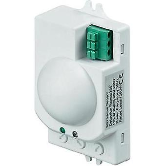Ceiling HF motion detector Goobay 96011 360 ° Relay White IP20