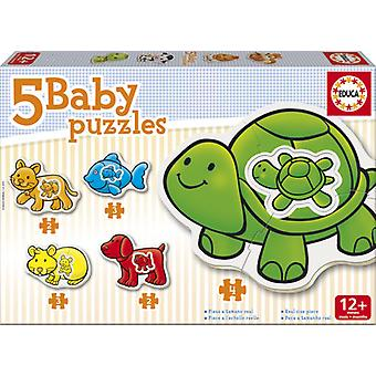 Educa Puzzle Baby Animals (Toys , Preschool , Puzzles And Blocs)
