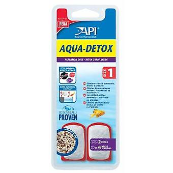 API Aqua Detox 2 Doses (Fish , Maintenance , Water Maintenance)