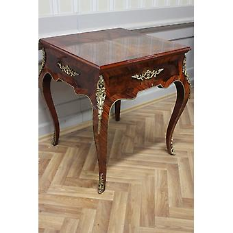 Côté baroque - table de jeu de table style antique MkTa0025