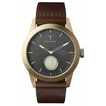Triwa Mens Ash Spira Brown Leather SPST101-CL010413 Watch
