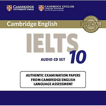 Cambridge IELTS 10 Audio-cd's 2 door Cambridge