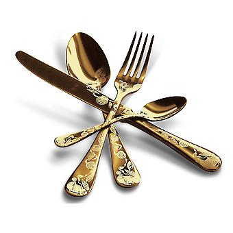 Mepra Venere Oro 24 pcs flatware set