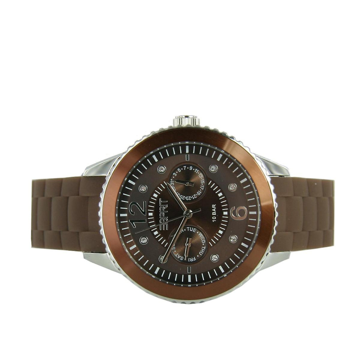 ESPRIT ladies watch Marin 68 speed brown chocolate ES105332016