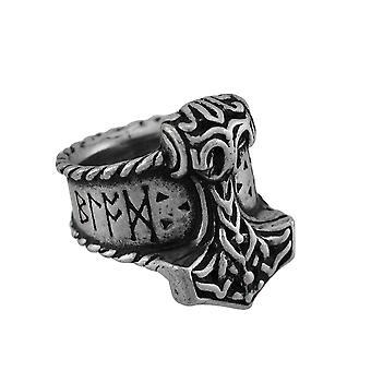 Alchemy Thor's Rune Hammer Ring