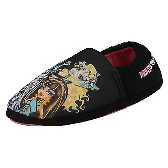 Girls Casual Slip On Slippers Monster High