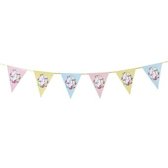 Talking Tables Truly Flamingo Bunting - 3m