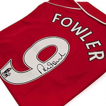 Liverpool Fowler Signed Shirt