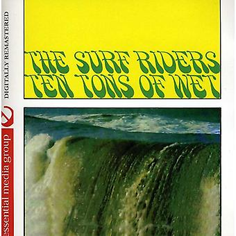 Surf Riders - Ten Tons of Wet (Johnny Kitchen Presents the Surf [CD] USA import