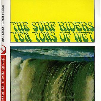 Surf Riders - 10 toneladas de Wet (Johnny cozinha apresenta o Surf [CD] EUA importar