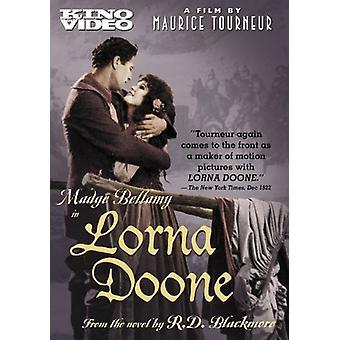 Importazione di Lorna Doone [DVD] Stati Uniti d'America