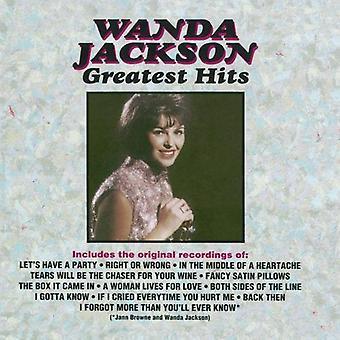 Wanda Jackson - importazione USA Greatest Hits [CD]