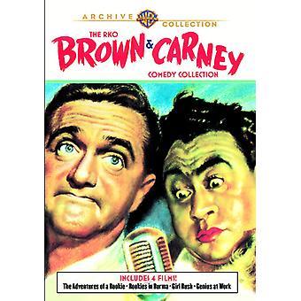Importação de EUA RKO Brown & Carney comédia Collection [DVD]