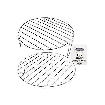 Andrew James 12 Litre Halogen Oven High And Low Rack