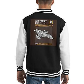 Serenity Service og reparation manuel Firefly Kid's Varsity jakke