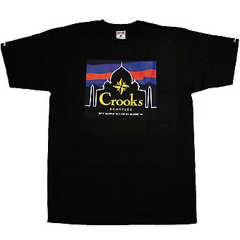 Gauner & Burgen Taj T-Shirt schwarz