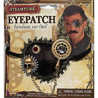 Steampunk Science Fiction Fantasy Victorian Pirate Women Mens Costume Eyepatch
