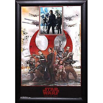 Rogue One: Star Wars - Signed Movie Poster