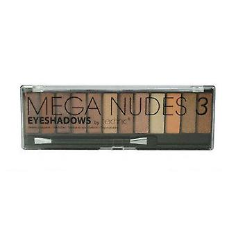Technic Mega Nudes 3 Eyeshadows 12 colours