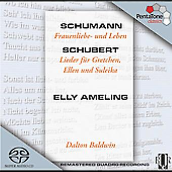 Schumann/Schubert - Schumann: Frauenliebe - Und Leben; Schubert: Lieder F R Gretchen, Ellen Und Suleika [SACD] USA importerer