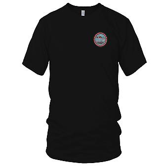 US Coast Guard USCG - Coast Guard Son Of A Afghanistan Veteran Embroidered Patch - Ladies T Shirt