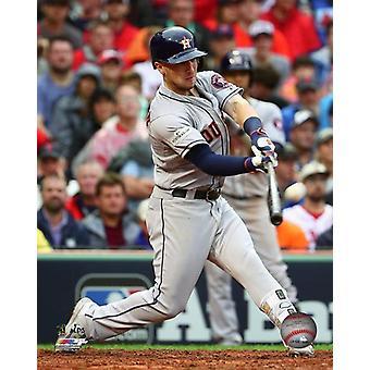 Alex Bregman Home Run Game 4 of the 2017 American League Division Series Photo Print