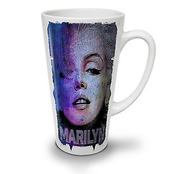 f8fea004 Salg Berømte Marilyn nye hvit te kaffe keramiske Latte krus 17 oz   Wellcoda