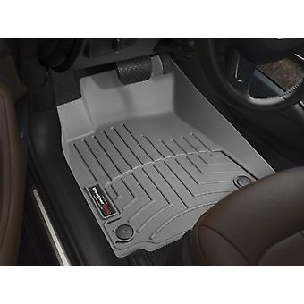WeatherTech Custom Fit Front FloorLiner for Porsche Cayenne, Grey