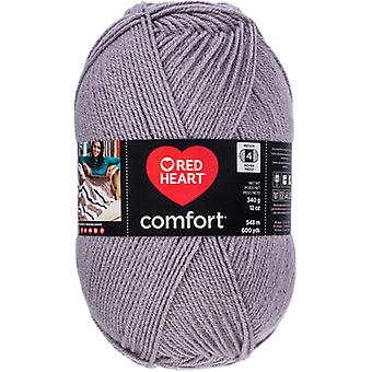 Red Heart Comfort Yarn-Grey & Silver Shimmer E707D-5002