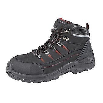 Grafters Mens Flame Padded Ankle Low Safety Boots