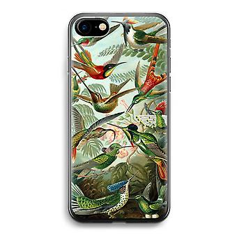 iPhone 7 透明ケース (ソフト) - ヘッケル Trochilidae