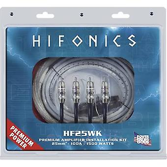 Car stereo headstage amp connector kit Hifonics PREMIUM KABELKIT 25 mm² HF25W