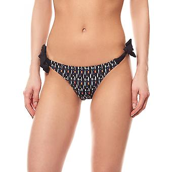pièces Tunisia normal bottom ladies bikini bottoms black with loop